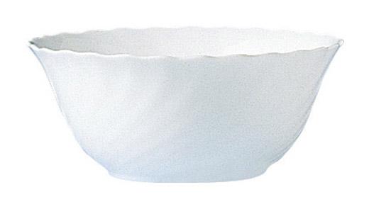 Trianon Uni weiß Salatschale 18cm