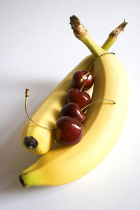 Kannenbeutel Kirsch-Banane