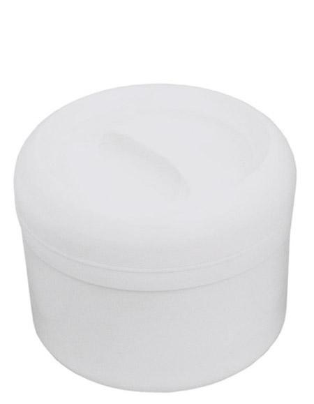 Kunststoff-Thermobehälter, 3,0Ltr., weiß, innen Edelstahl, Einsatz 1,0L Edelstahl
