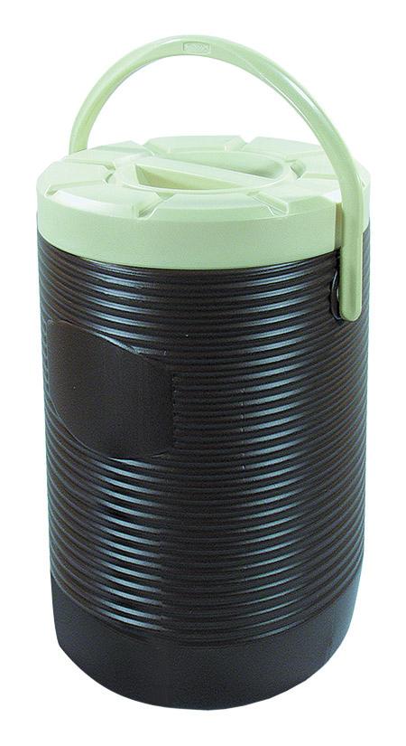 Thermo-Speisetransportbehälter, 18,0Ltr., braun, Innenbehälter 18/8-18/10,