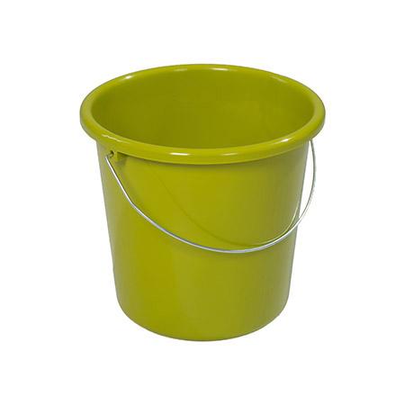 Haushaltseimer kiwi, 5Ltr. mit Metallbügel Kunststoff PP