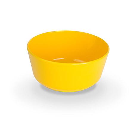 Dessertschälchen, H5cm, Ø11cm, gelb, Polycarbonat