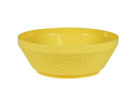 Dessertschale, gelb, Ø10,5 x 4cm Kunststoff Polypropylen