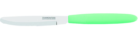 Dessertmesser IPANEMA grün ca.18cm Edelstahl-Klinge mit scharfen Zähnen, Griff PP