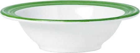 Kompottschale, 20cl, Bistro grün, Melamin 14cm außen, 10,5cm innen