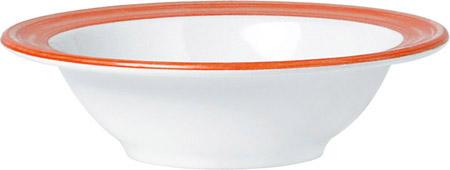 Kompottschale, 20cl, Bistro orange, Melamin 14cm außen, 10,5cm innen