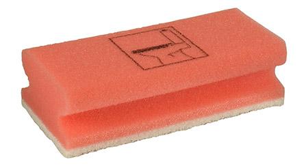 Schwämme Toilette/rot, 10er Pack Vliesstoff/PU-Schaum