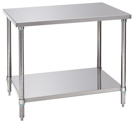 Arbeitstisch mit Grundboden, L 100xB 70xH 86-90cm, einfache Montage, Tragfähigkeit komplett 280kg
