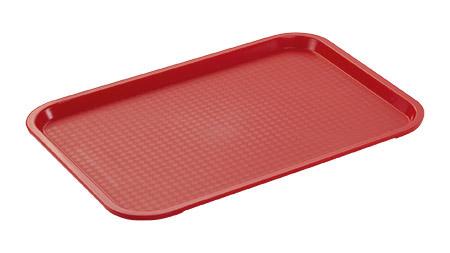 Tablett, rot, 415x310mm, Polypropylen