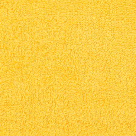 Gästetuch, gelb, 30x50cm, Walkfrottier, 100% Baumwolle, 440g/m², trocknergeeignet