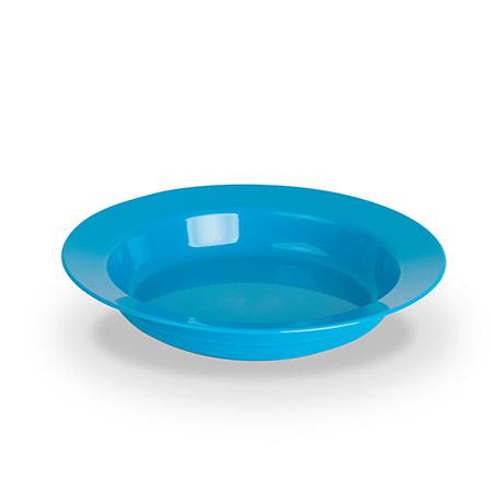 Teller tief, 19cm, hellblau, Polycarbonat