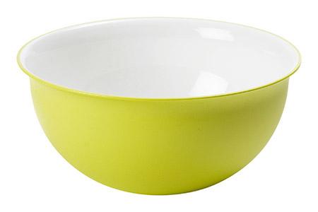 Schüssel apfelgrün 3,5L, PP, Microban Ø 26,5cm, H 12cm