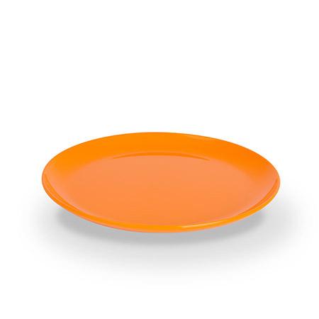 Dessertteller, 19cm, orange, Polycarbonat