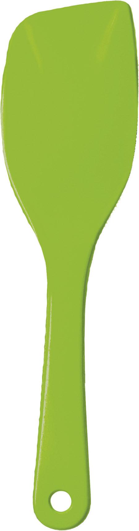 Servierlöffel, apfelgrün, hochwertiger Kunststoff 26cm, hitzebeständig bis 225°C