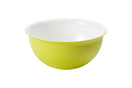 Schüssel apfelgrün 0,5L, PP, Microban Ø 13,5cm, H 6,5cm