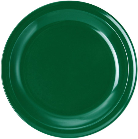 Teller flach, 23,5cm, grün, Melamin