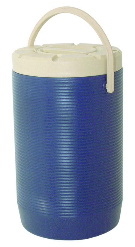 Thermo-Speisetransportbehälter, 18,0Ltr., blau, Innenbehälter 18/8-18/10,