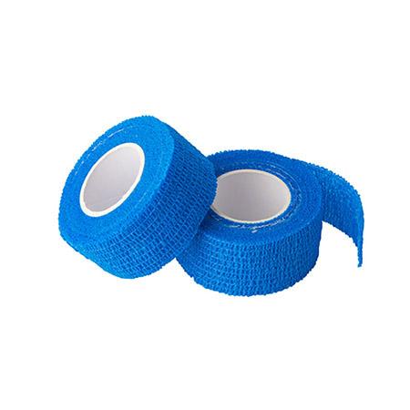 Pflaster selbsthaftend blau 2-er Pack je Rolle 5m x 2,5cm