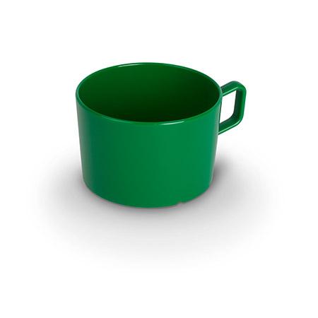Tasse, 20cl, grün, Polycarbonat