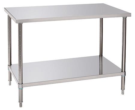 Arbeitstisch mit Grundboden, L 120xB 70xH 86-90cm, einfache Montage, Tragfähigkeit komplett 280kg