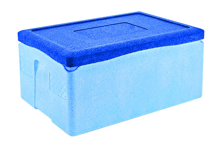 GN Thermotransportbehälter 1/1 GN-200mm EPP, Außenmaße 60x40x28 cm