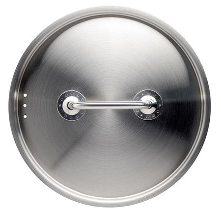 Deckel 24cm, Edelstahl 18/10 passend für Töpfe Professional