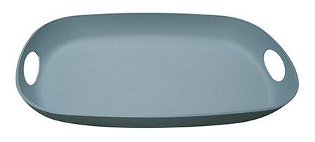 Tablett Pangea oval, blau 36cm x48cm x5,2cm, Kunststoff FCM