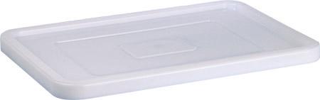Deckel für Stapelbehälter, weiß, Kunststoff für 41312, 41322, 41332 lebensmittelecht
