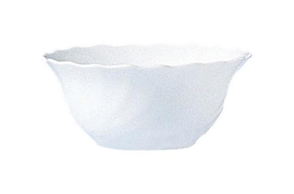 Salatschale, 12cm, Trianon Uni weiß