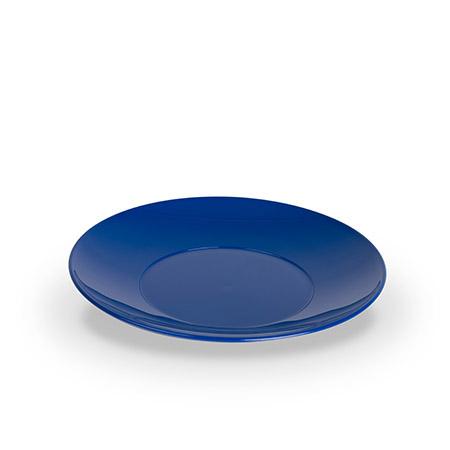 Untertasse 13,5cm, blau, zu Tasse PC-119, Polycarbonat