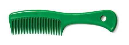 Griffkamm m. Loch, 19cm, grün, PP