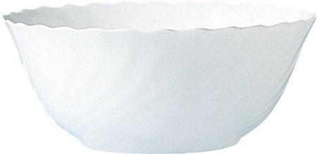 Salatschale, 24cm, Trianon Uni weiß