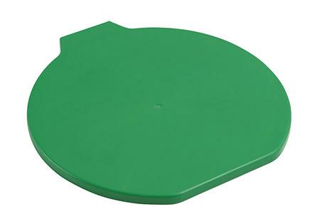 Deckel für Lebensmitteleimer, extra stark, grün Kunststoff PP
