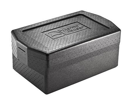 Box Comfort  GN 1/1-200  inkl. Deckel, schwarz, Außenmaß: 67x40x30cm