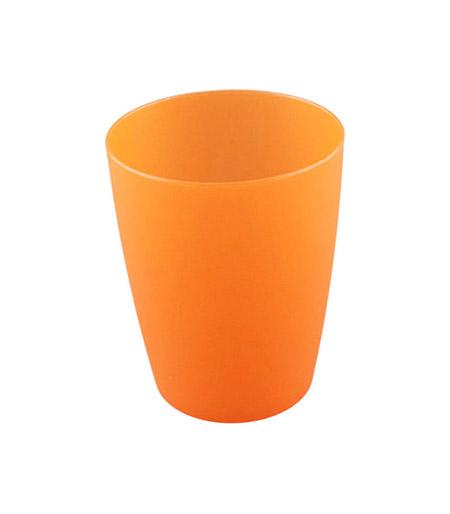 Becher, 20cl, orange, Polypropylen