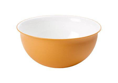 Schüssel orange 1,5L, PP, Microban Ø 20cm, H 9cm