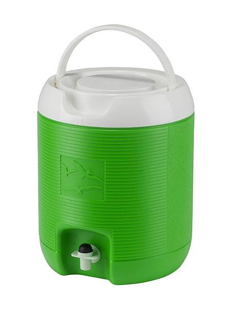 Thermo-Getränkebehälter, 6L, apfelgrün komplett Kunststoff PE
