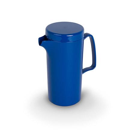 PC-Kanne mit Deckel 0,6 Ltr. Blau
