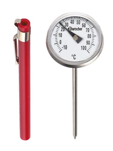 Einstech-Thermometer A1020, analog rund,