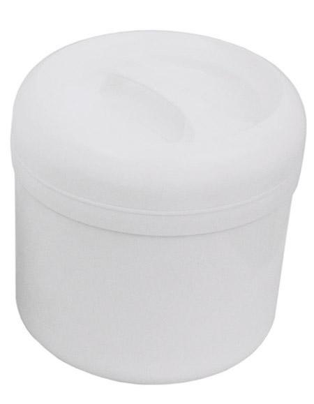 Kunststoff-Thermobehälter, 4,0Ltr., weiß, innen Edelstahl, Einsatz 1,0L Edelstahl