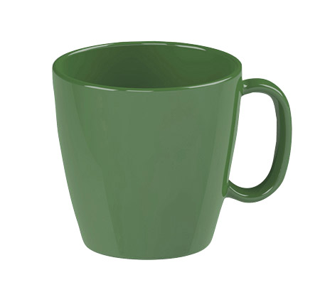 Tasse, 23cl, grün, Kunststoff PBT
