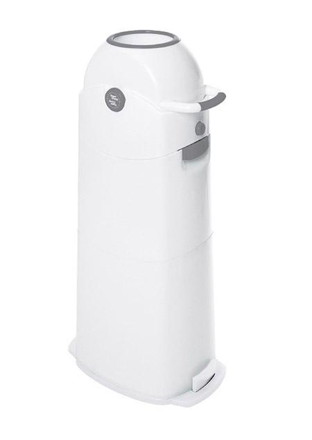 Diaper Champ -Windeleimer, groß, silber Einhandbedienung, Kapazität ca.75 Windeln/120L Btl
