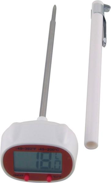 Einstech-Thermometer, digital, -45°C bis +200°C,