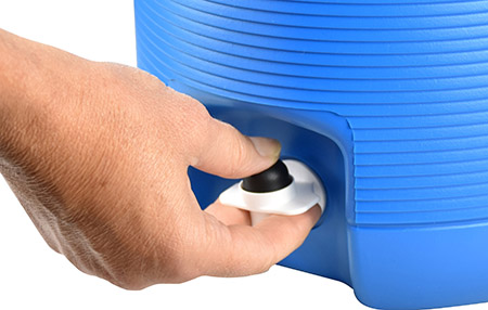 Ersatz-Hahn für Behälter, 4L, 6L, 8L, 13L (071/073...) Kunststoff